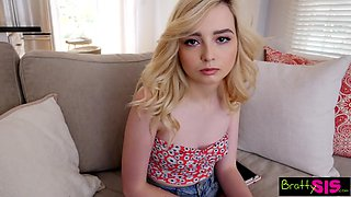 Naughty teen Lexi Lore gets intimate with her elder stepbrother