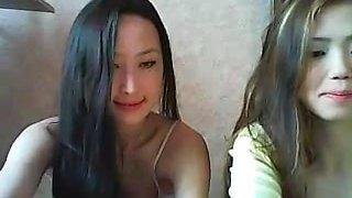 2 chinese lesbians strip