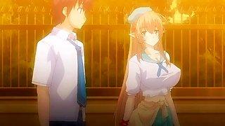 Love x holic: miwaku no otome to hakudaku kankei the animation episode 1