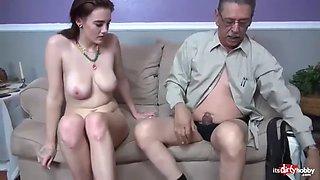 German taboo secrets 12 (cum inside me grandpa)
