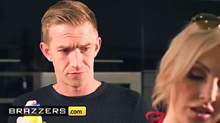 Brazzers - Mommy Got Boobs - Georgie Lyall Danny D - Make Yourself Comfortable