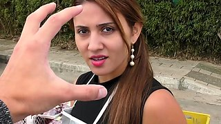 CarneDelMercado - Brunette Latina Picked Up For Steamy