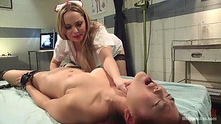 Incredible fetish, lesbian xxx video with crazy pornstars Aiden Starr and Lea Hart from Whippedass