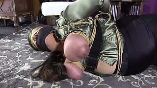 Astonishing xxx clip Hogtied unbelievable unique