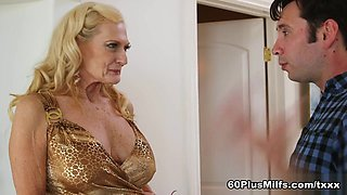 68-Year-Old Layla's First Time On-Camera - Layla Rose And Tommy Pistol - 60PlusMilfs