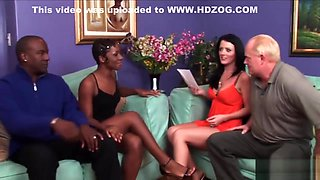 Amazing wives get swapped and fucked
