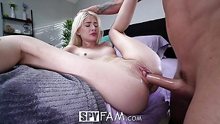 Sexy Masturbating Is Not Enough For Step Sis