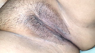 My sister-in-law's hairy pussy