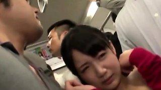 Horny japanese school girls in cute panties