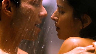 Couple making love in the shower