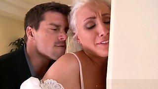 Punishbox - Blonde Bride gets put in her place