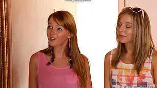 Lesbian Real Sisters Part 1