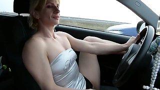 masturb in my car