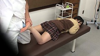 Asian schoolgirls voyeur panties