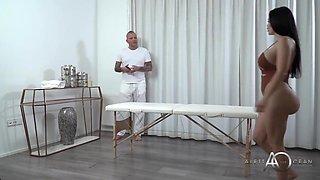 Aletta Ocean - Massaging Her Fake Body
