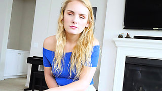 SislovesMe - Stepbro Ramming his Horny Blonde sister