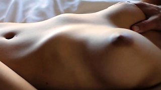 Breathtaking beauty gets her vagina pounded till sated
