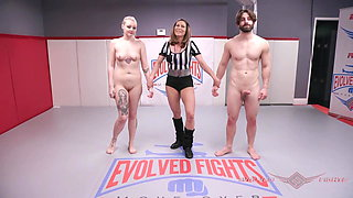Arielle Aquinas mixed wrestling loss gets fucked