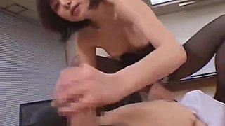 Mosaic: Asian in pantyhose fucked Vol. 1