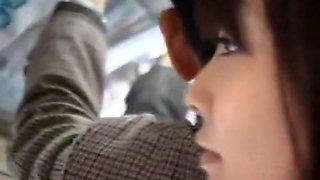 Fabulous Japanese slut Hina Umehara, Mizuki Akiyama, Anna Mutsumi in Crazy Bus JAV clip