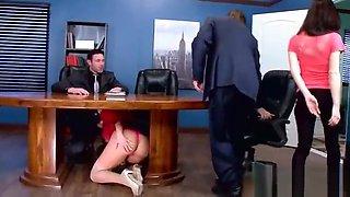 Office Sluty Girl (Olivia Austin) With Big Round Boobs Banged Hard video-25