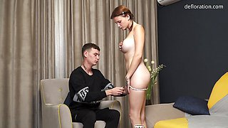Hot Galinka Nagymellu Gets Fucked Hard in Her Virgin Pussy
