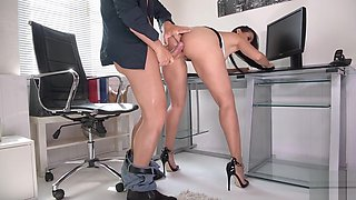 Anal Fuck During Office Hours