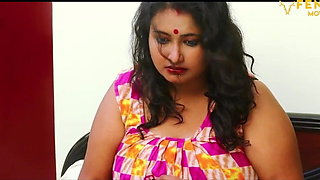 Indian aunty Sucharita has sex with devar, big boobs