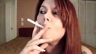 Amazing amateur Fetish, Smoking xxx scene