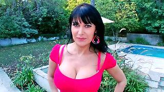 Hot bitch Eva Karera tastes a huge black monster cock