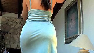 Big ass in focus
