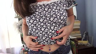 POV analfucked babe takes cock Ass to mouth