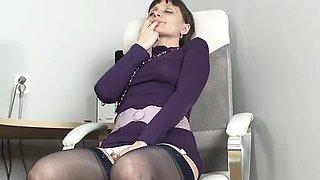 Masturbation in panties