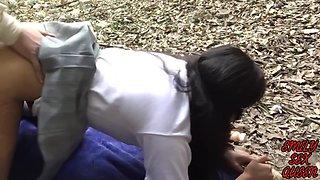 Colegiala Mexicana De Secundaria Publica Se Va De Pinta Para Ir A Coger Al Bosque Parte 1