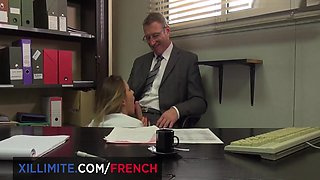 Sabrina Sweet - French Big Boobs Fucked By The Boss