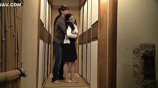 Amazing Japanese whore in Incredible Wife, Cuckold JAV movie