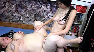 OldNannY Old and Young Lesbians Toy Fucking