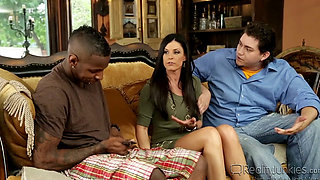 India Summer Takes BBC In Front of Her Son