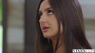 VIXEN Gorgeous Eliza And Naomi team up to seduce their boss