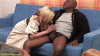 Monster cock interracial anal banging