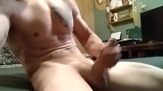 Hot amateur wife catches me jerkin off she finishes me off with a blowjob