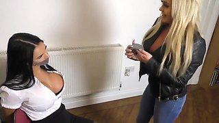 Taylor & Chloe - Lesbian Milfs Bondage Video