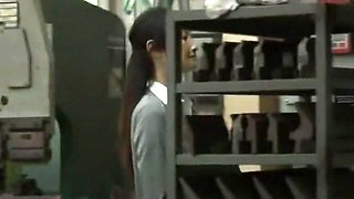 Amazing Japanese model in Horny Secretary, Big Tits JAV video