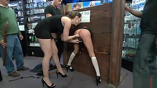 Sexy girls are getting dominated hard