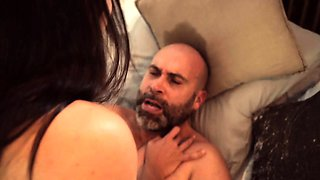 XXX SHADES - Cheating Spanish babe gets pussy creampie
