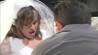 Bride Tyla Wynn Anal Fucked Hard By Groom Lee Stone