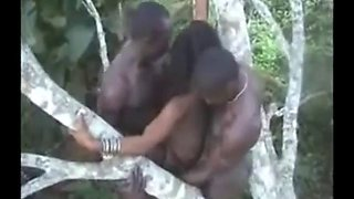 Real african bush and jungle sex collection