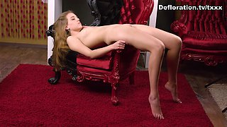 DeflorationTv Video: Mirella Csikis - Hardcore Defloration