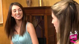 Katie Jordon And Kara Price In And Lesbian Coitus