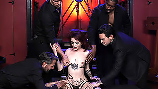 Lola Fae's First Gangbang - As Above So Below Part 2